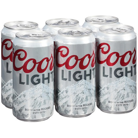COORS LIGHT (CAN) - 12oz