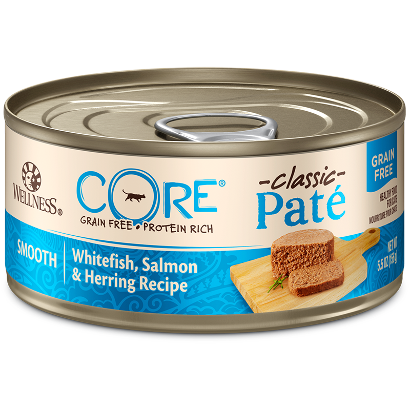 CORE - CLASSIC PATE GRAIN FREE - (Whitefish, Salmon & Herring Recipe) - 5.5oz
