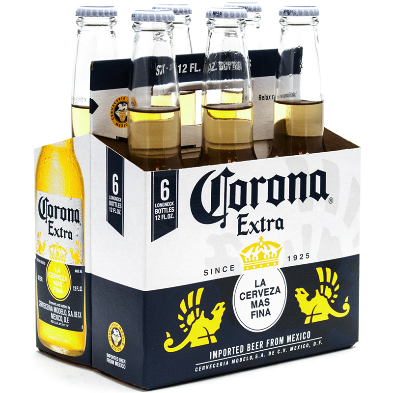 CORONA EXTRA - (Bottle) - 12oz(6PK)