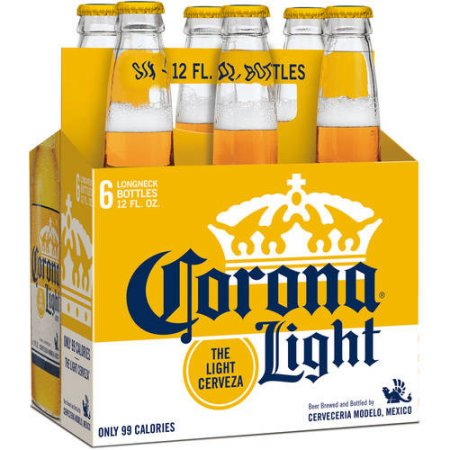 CORONA LIGHT - (Bottle) - 12oz(6PK)