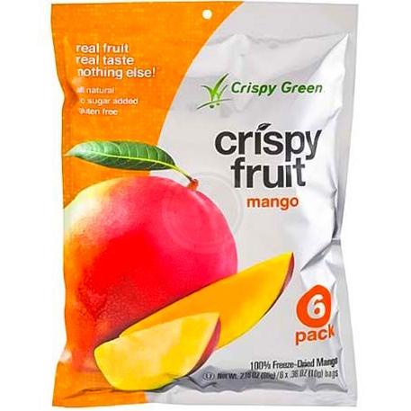 CRISPY GREEN - CRISPY FRUIT - NON GMO - (Mango) - 2.16oz