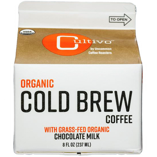CULTIVO - ORGANIC COLD BREW COFFEE - (Chocolate Milk /w Grass-Fed Organic) - 8oz