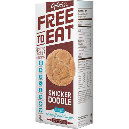 CYBELE'S - FREE TO EAT (Snicker Doodle) - 5.4oz