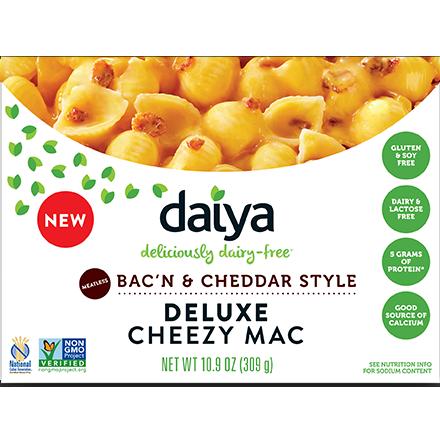 DAIYA - DELUXE CHEEZY MAC - GLUTEN FREE - (Bac'N & Cheddar Style) - 10.6oz