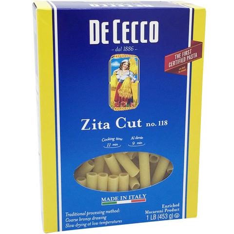 DE CECCO - NO. 118 Zita Cut - 1LB