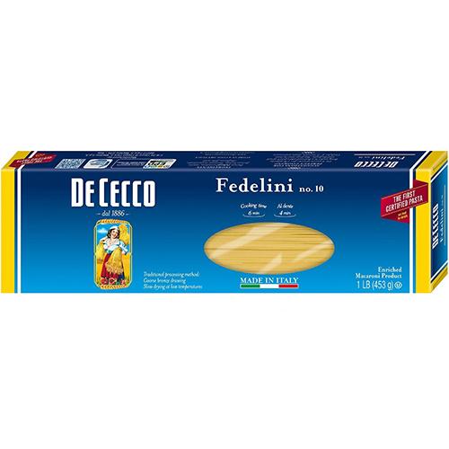 DE CECCO - NO.10 Fedelini - 1LB