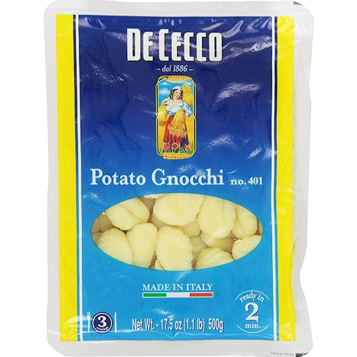 DE CECCO - NO.401 POTATO GNOCCHI - 17.5oz