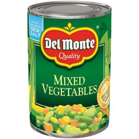 DEL MONTE - MIXED VEGETABLES - NON GMO - 14.5oz