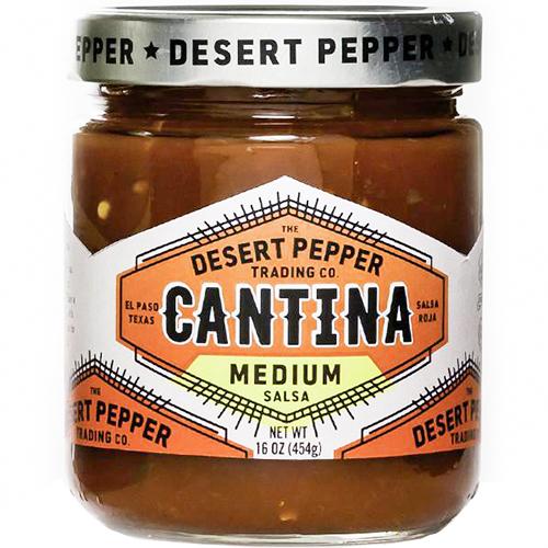 DESERT PEPPER - CANTINA - GLUTEN FREE - VEGAN - (Salsa Roja | Medium) - 16oz