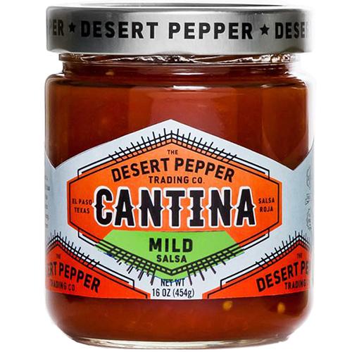 DESERT PEPPER - CANTINA - GLUTEN FREE - VEGAN - (Salsa Roja | Mild) - 16oz
