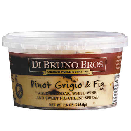 DI BRUNO BROS - CHEESE SPREAD - (Pinot Grigio & Fig) - 7.6oz
