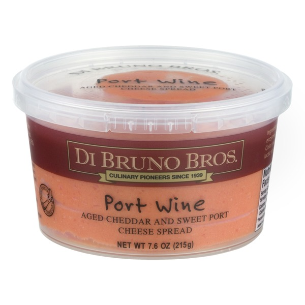 DI BRUNO BROS - CHEESE SPREAD - (Port Wine) - 7.6oz