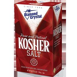 DIAMOND CRYSTAL - KOSHER SALT - 48oz