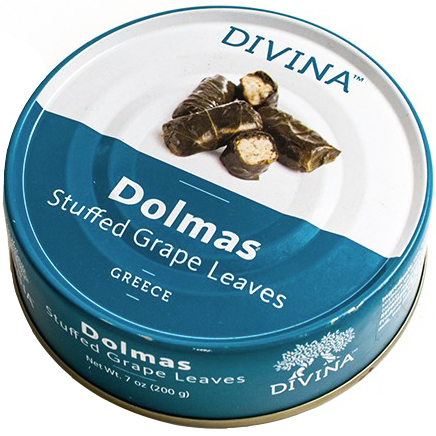 DIVINA - DOLMAS - STUFFED GRAPE LEAVES - 7oz