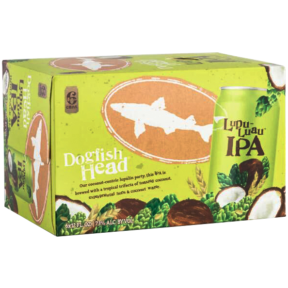 DOGFISH HEAD - (Can) - (Lupu Luau IPA) - 12oz(6PK)