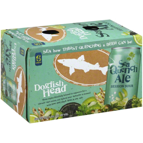 DOGFISH HEAD - (Can) - (Sea Quench Ale) - 12oz(6PK)