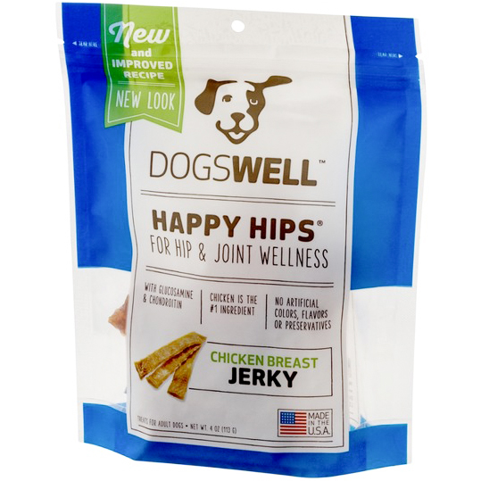 DOGSWELL - HAPPY HIPS - (Jerky | Chicken Creast) - 4oz