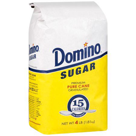 DOMINO - SUGAR PURE CANE - NON GMO - 4LB
