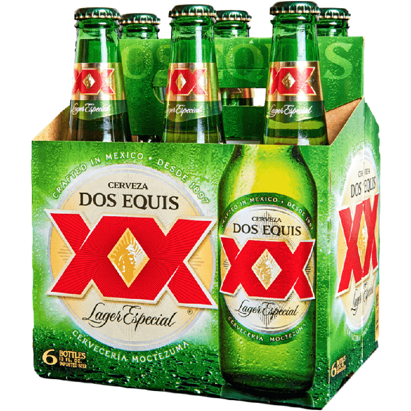 DOS EQUIS XX LAGER - (Bottle) - 12oz(6PK)