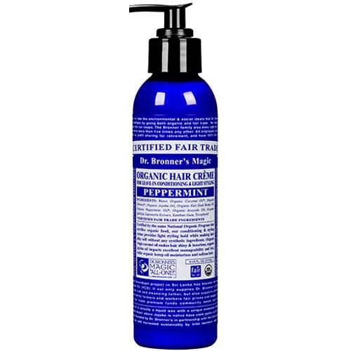 DR.BRONNER'S - ORGANIC HAIR CREAM - (Peppermint) - 6oz