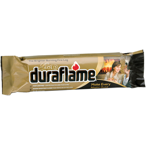 DURAFLAME - GOLD FIRELOGS - 6LB