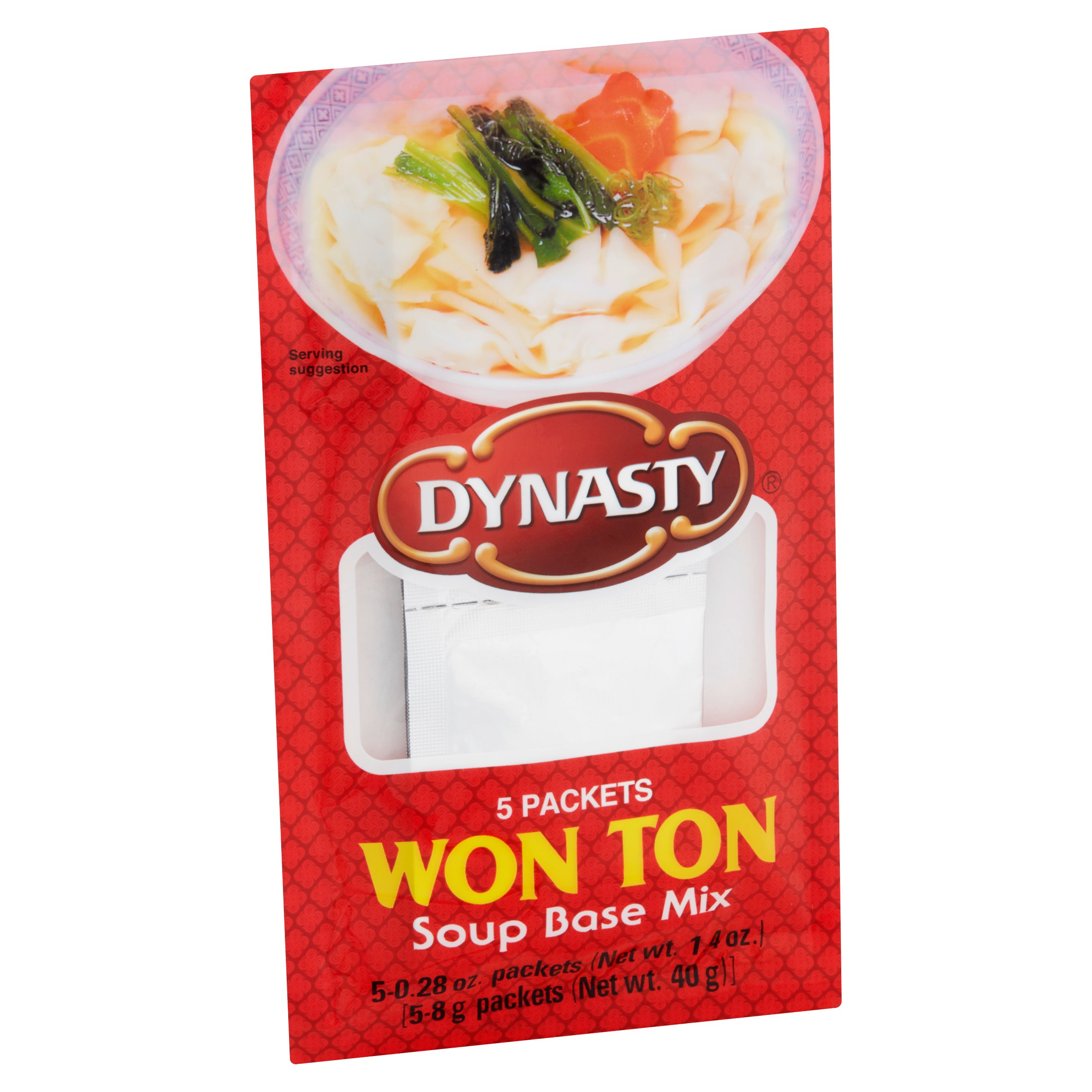 DYNASTY - WONTON - SOUP BASE MIX - 1.4oz-(5packets)