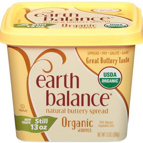 EARTH BALANCE - SOY FREE BUTTERY SPREAD - (Organic) - 13oz