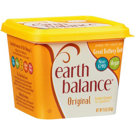 EARTH BALANCE - SOY FREE BUTTERY SPREAD - (Original) - 13oz