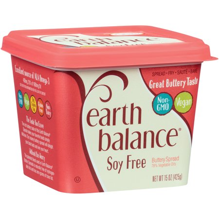 EARTH BALANCE - SOY FREE BUTTERY SPREAD - (Soy Free) - 13oz