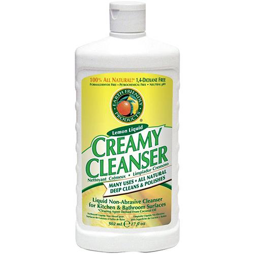 EARTH FRIENDLY - CREAMY CLEANSER - (Lemon) - 17oz