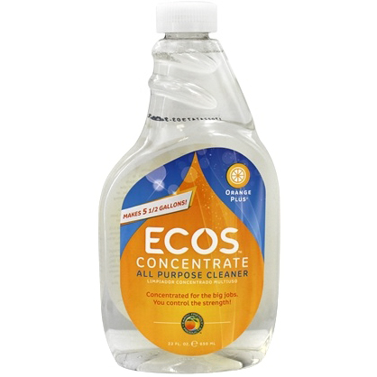 EARTH FRIENDLY - ECOS ALL PURPOSE CLEANER - (Orange Plus) - 22oz