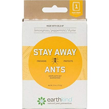 EARTHKIND - STAY AWAY ANTS - For 30 Days