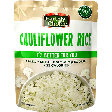 EARTHY CHOICE - CAULIFLOWER RICE - 8.5oz