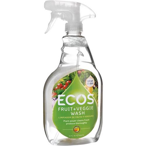 ECOS - FRUIT + VEGGIE WASH - 23oz