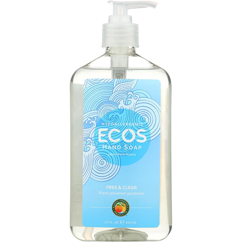 ECOS - HAND SOAP - (Free & Clear) - 17oz