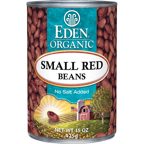 EDEN - BEANS - (Small Red) - 15oz