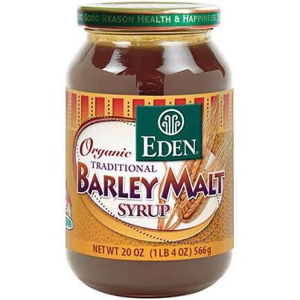 EDEN - ORGANIC TRADITIONAL BARLEY MALT SYRUP - 20oz