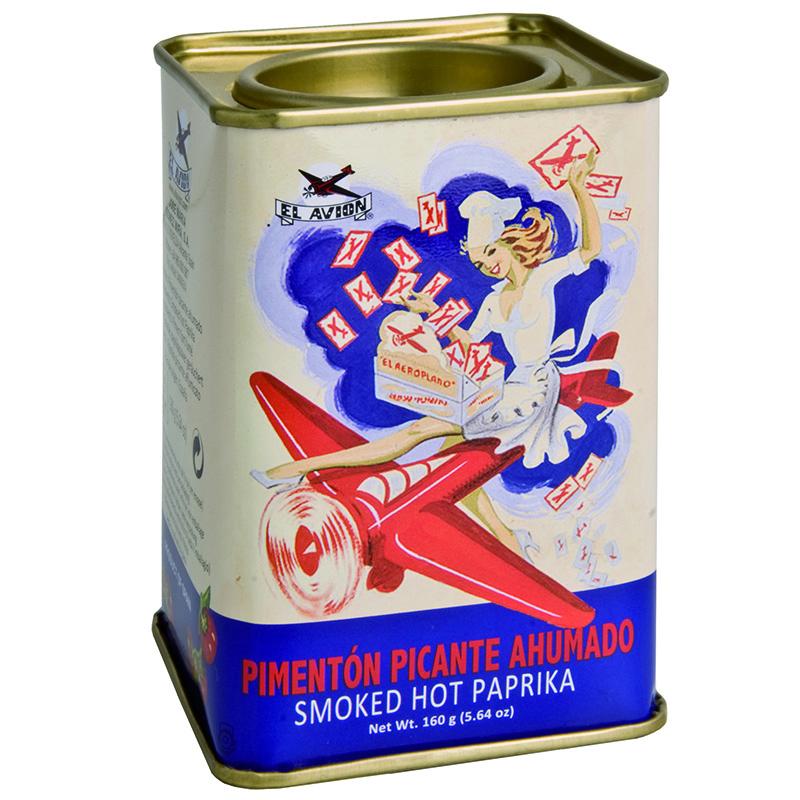 EL AVION - PIMENTON PICANTE AHUMADO - (Smoked Hot Paprika) - 2.64oz
