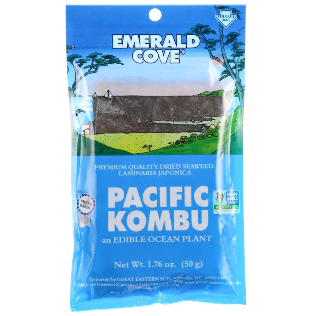 EMERALD COVE - PACIFIC KOMBU - NON GMO - GLUTEN FREE - 1.76oz