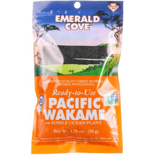 EMERALD COVE - PACIFIC WAKAME - NON GMO - GLUTEN FREE - 1.76oz
