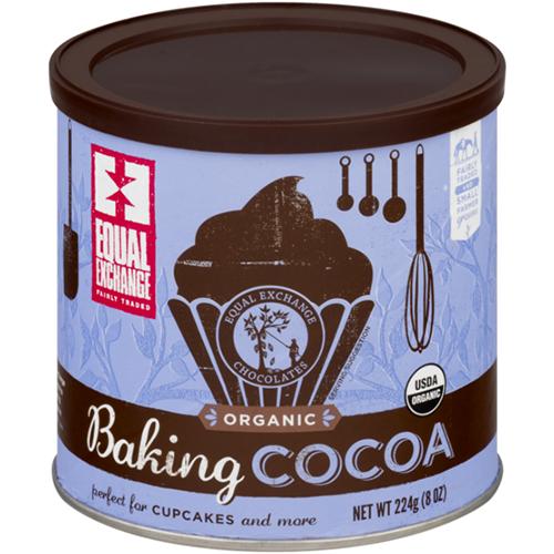 EQUAL EXCHANGE - ORGANIC BAKING COCOA - 12oz