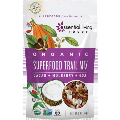 ESSENTIAL LIVING - ORGANIC - (Superfood Trail Mix) - 6oz