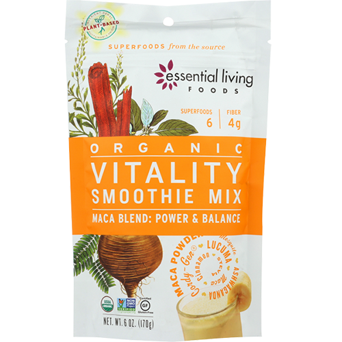 ESSENTIAL LIVING - ORGANIC VITALITY SMOOTHIE MIX - 6oz