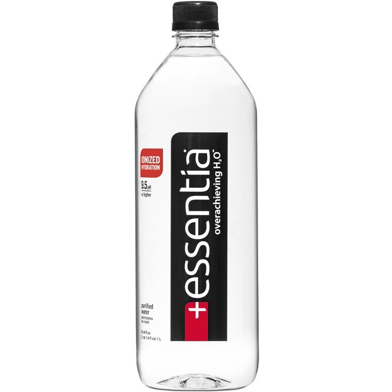 ESSENTIA OVERACHIEVING H2O WATER - 33.8oz