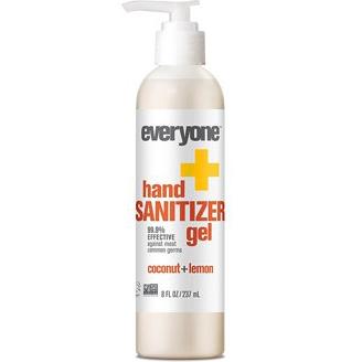 EVERYONE - HAND SANITIZER GEL - (Coconut + Lemon) - 8oz