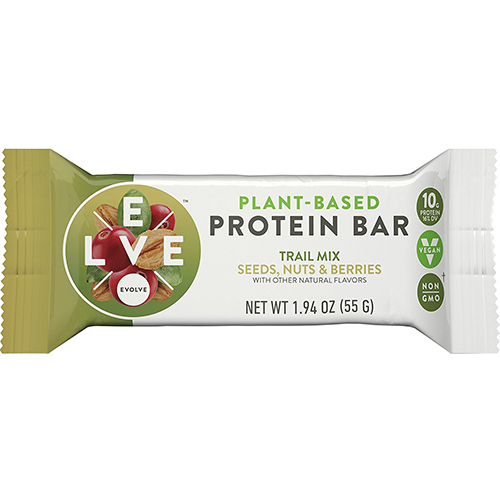 EVOLVE - PLANT BASED PROTEIN BAR - (Trail Mix - Seeds, Nuts & Berries) - 1.94oz