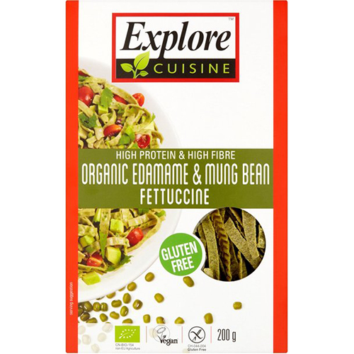 EXPLORE CUISINE - LOADED /W PLANT BASED PROTEIN - (Edamame & Mung Bean Fettuccine) - 8oz