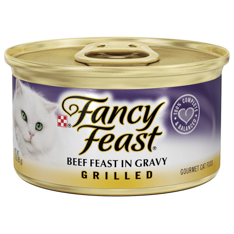 FANCY FEAST - (Beef Feast Gravy | Grilled) - 3oz
