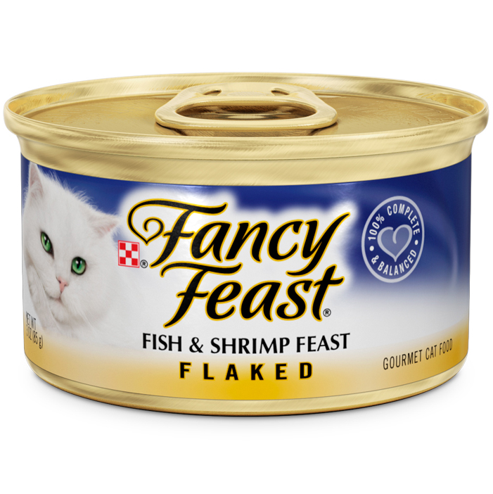 FANCY FEAST - (Fish & Shrimp Feast | Flaked) - 3oz