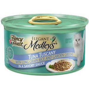 FANCY FEAST - MEDLEYS - (Tuna Tuscany /w Long Grain Rice & Garden Greens in a Savory Sauce) - 3oz